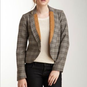 Willow & Clay Plaid Blazer